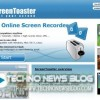 ScreenToaster: Creare Screencast Online